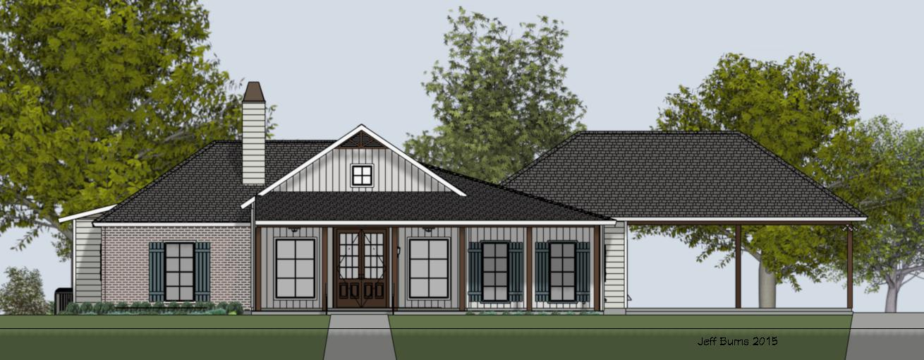 Farm House Plan 1994-2811