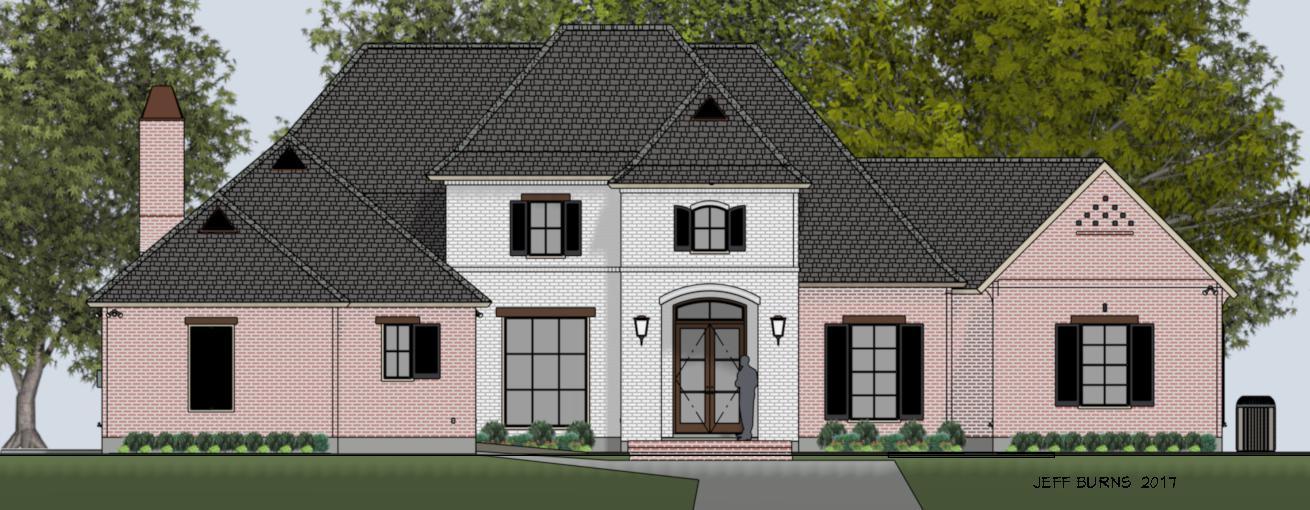 Custom Home Example 2672-4573
