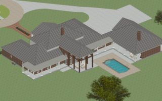 CUSTOM HOME EXAMPLE 7136 - 10938 Front-Exterior-4-1-320x200