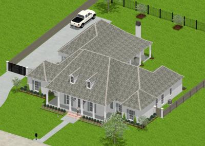 Acadian -Symmetrical-3043-5194-Louisiana-Stock-Plan-Jeff-Burns-Designs-2