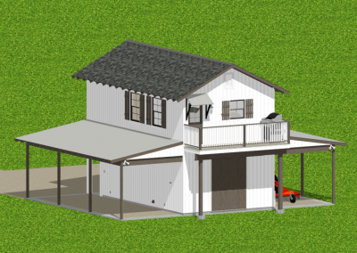 Barn-Dominium-523-1483-Farmhouse-Louisiana-Stock-Plan-Jeff-Burns-Designs-5
