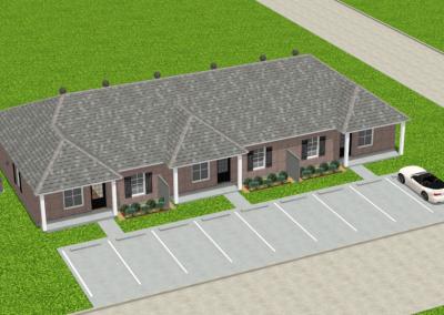 Brick-Triplex-2988-3462-Louisiana-Stock-Plan-Jeff-Burns-Designs-3