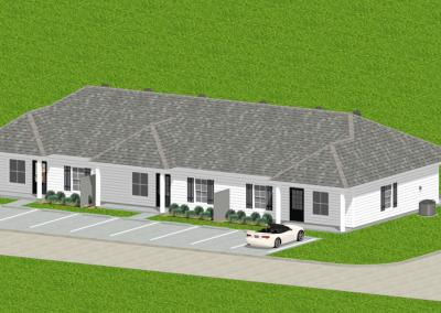 Siding-Triplex-3043-3483-Louisiana-Stock-Plan-Jeff-Burns-Designs-3