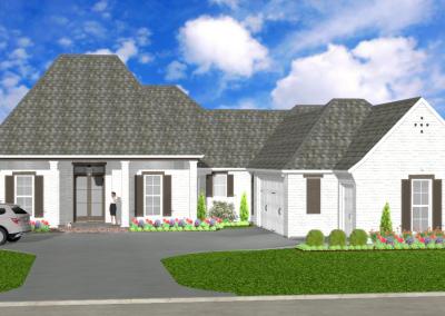 White Acadian-2449-3756-Lousiana-Stock-Plan-Jeff-Burns-Designs-2