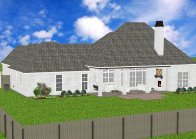 White Acadian-2449-3756-Lousiana-Stock-Plan-Jeff-Burns-Designs-3