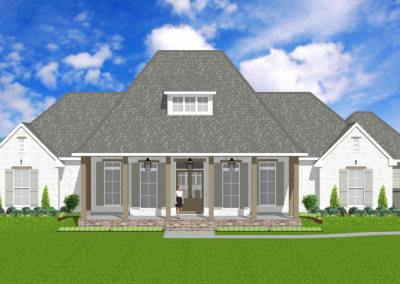 Acadian-Farm-House-2597-4217-Louisiana-Stock-Plan-Jeff-Burns-Designs-1