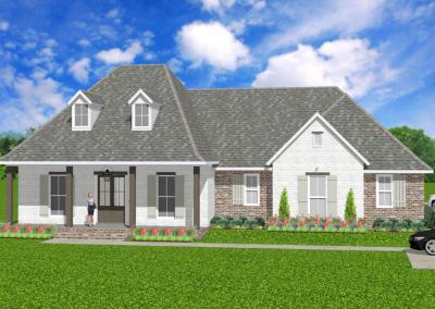 Acadian-Rustic-2398-3585-Louisiana-Stock-Plan-Jeff-Burns-Designs-1