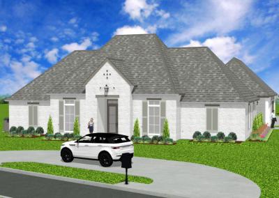 French-Creole-2870-4342-Louisiana-Stock-Plan-Jeff-Burns-Designs-1
