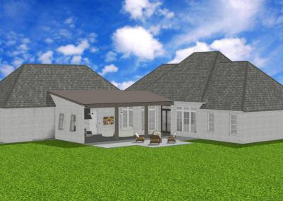 French-Creole-2870-4342-Louisiana-Stock-Plan-Jeff-Burns-Designs-2