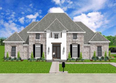 Louisiana-West-Indies 3059-4554-Stock-Plan-Jeff-Burns-Designs-1